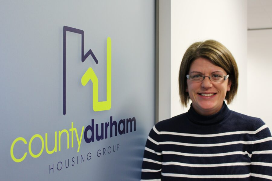 Rebekah Coombes of County Durham Housing Group
