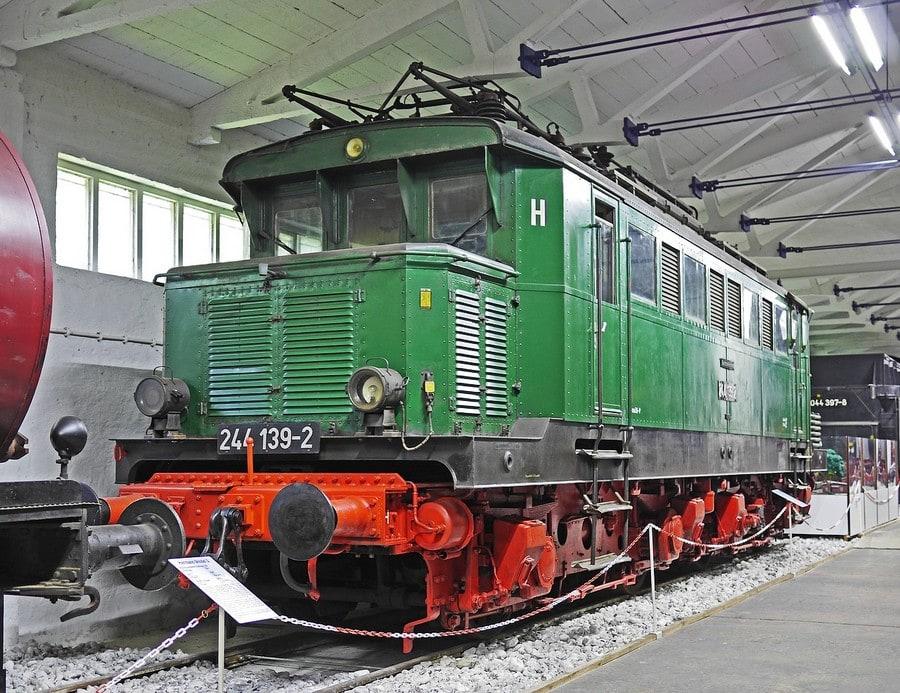 Electric locomotive of the Deutsche Reichsbahn
