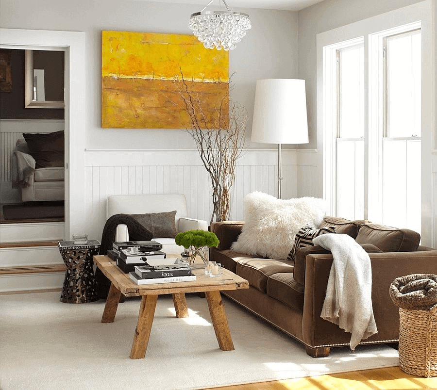 Small Modern Ranch Living Room Decoration Ideas