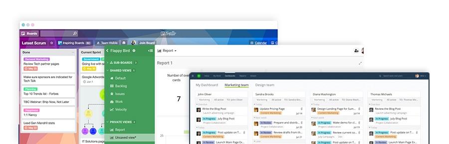 Trello, Kantree, Wrike, des outils de gestion de projets