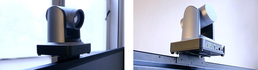 support caméra de visioconférence pour écran interactif