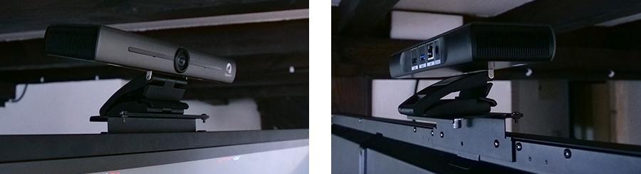 support caméra de visioconférence pour écran tactile