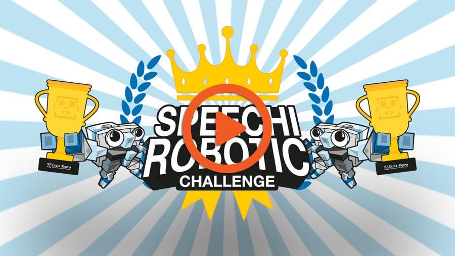 vidéo best-of du Speechi Robotic Challenge 2020