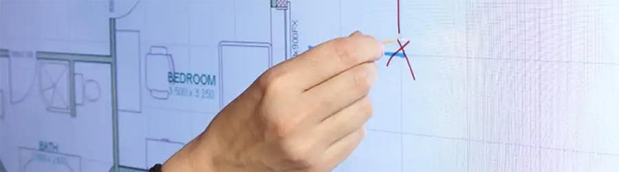 écran interactif cure dent