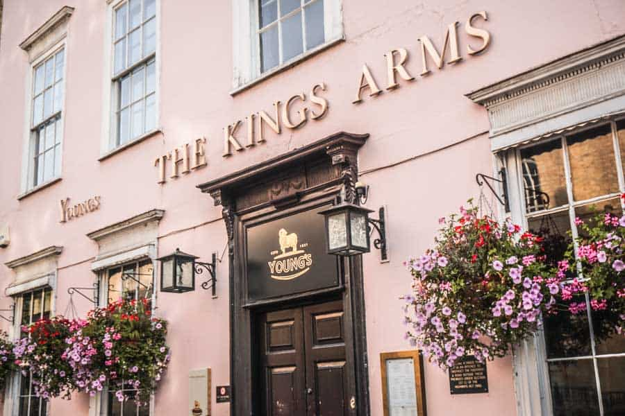 The Kings Arms, Oxford
