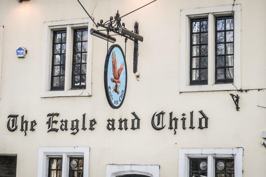The Eagle and Child Oxford