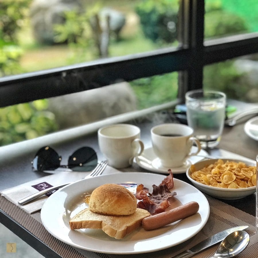 breakfast at Plum Restaurant - Lima Park Hotel Batangas