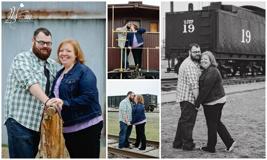 Dallas Wedding Photographer   Frisco Heritage Museum Engagement   Lyncca Harvey Photography