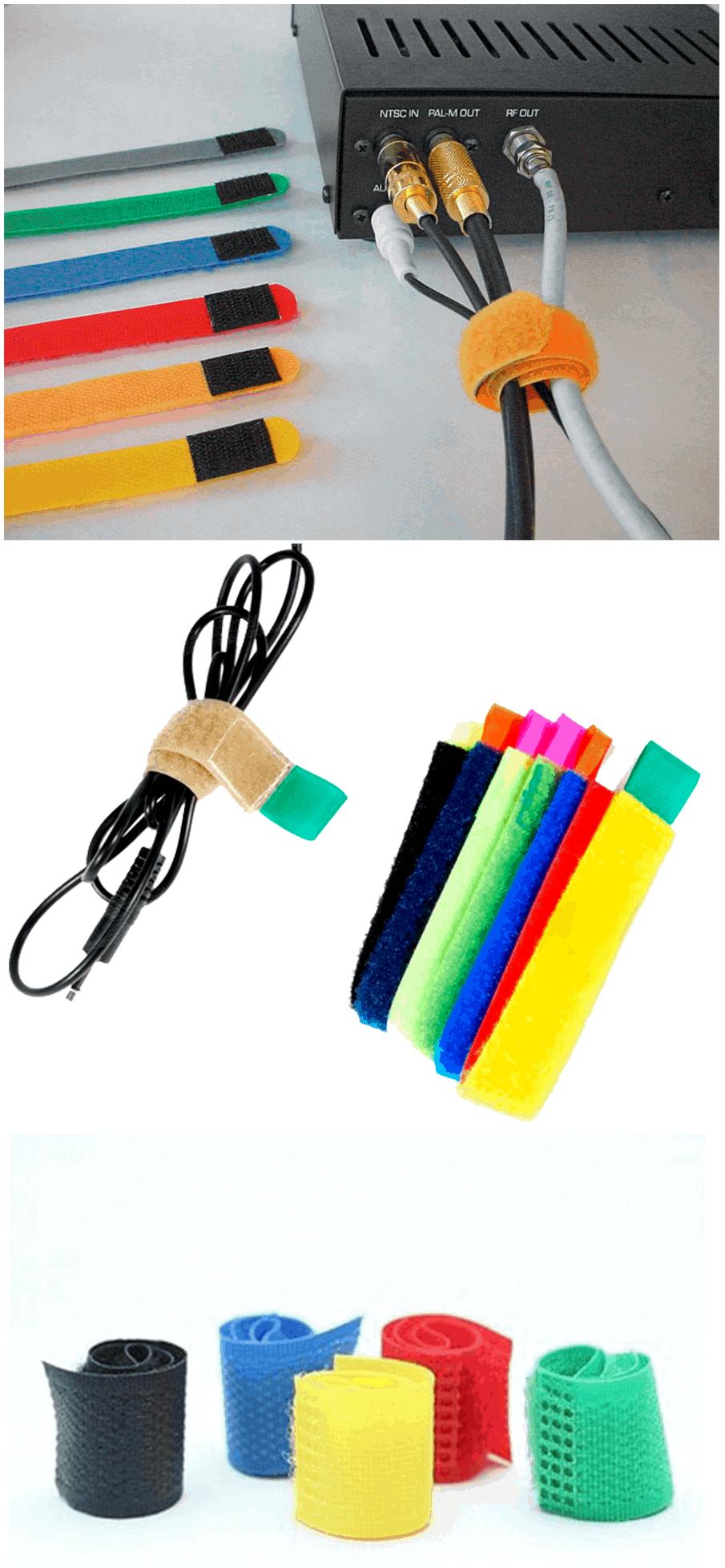 esconder e organizar fios e cabos