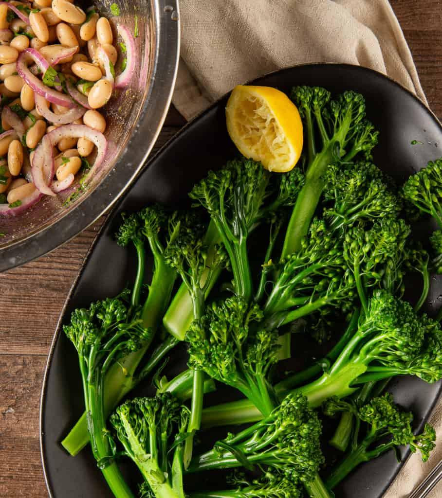 based for broccolini salad