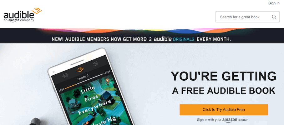 Audible Subscription
