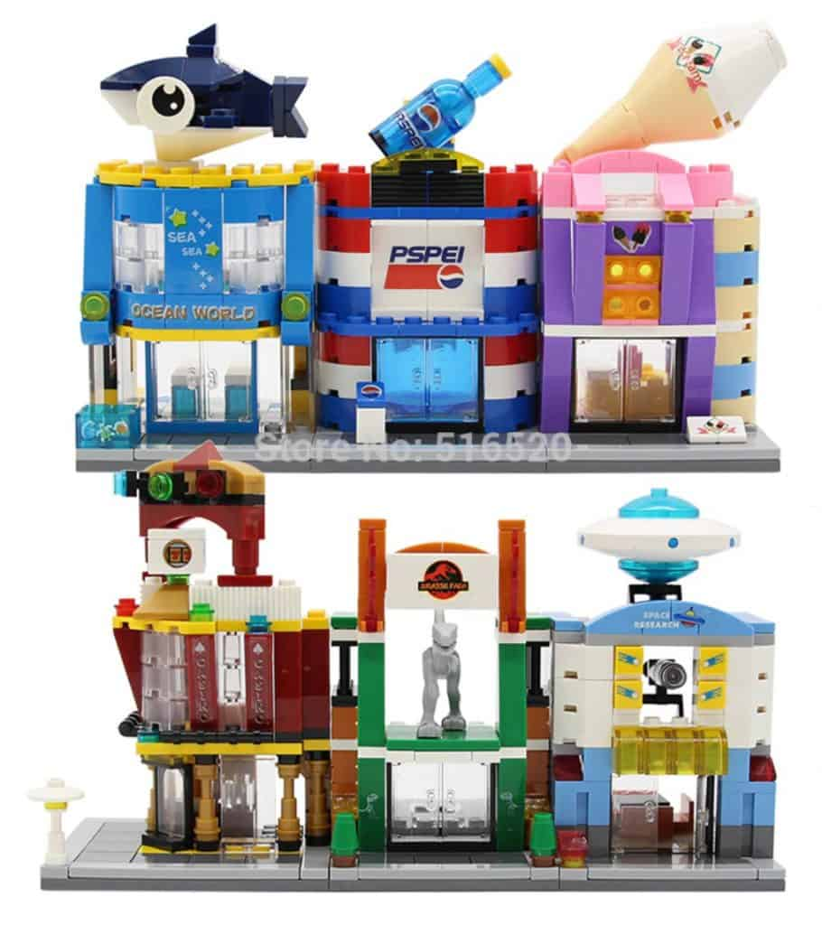 AliExpress Lego Replica Lego Alternative Lego Clone Lego City Replica, custom lego house, lego building site, lego build your own house, mini replica, Chinese lego clones, lepin lego rival, Chinese made Lego, lego minifigs, Lego minifigure, small plastic Lego figurine, LEGO-compatible