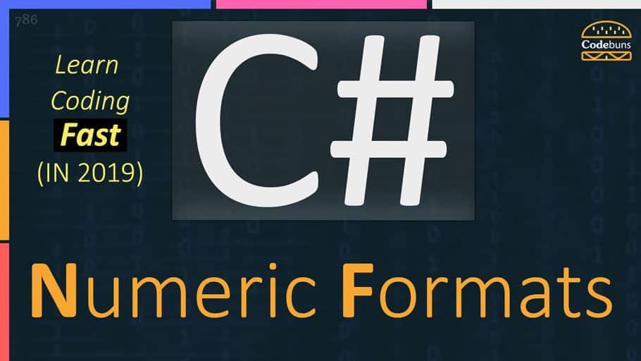 Numeric Formats