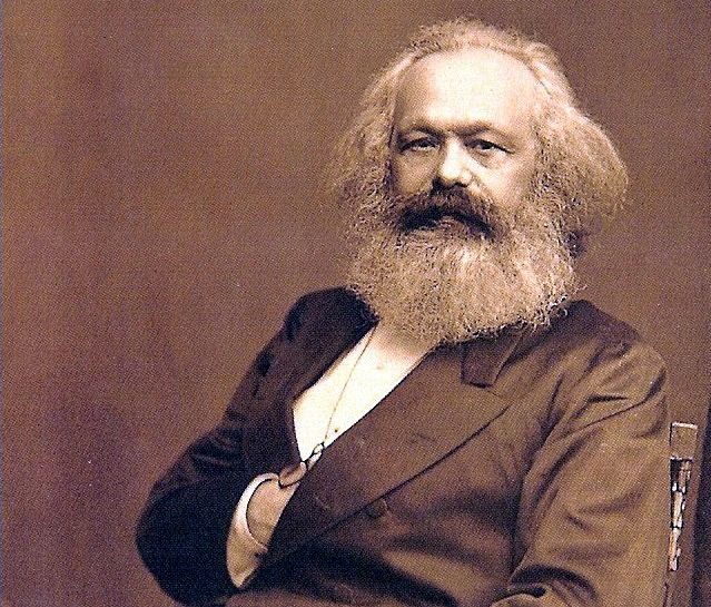Picture: Karl Marx, sourced from Wikemedia Commons from International Institute of Social History in Amsterdam, Netherlands. Listed as being in the public domain.