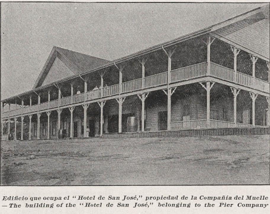 Hotel de la estación Puerto San José