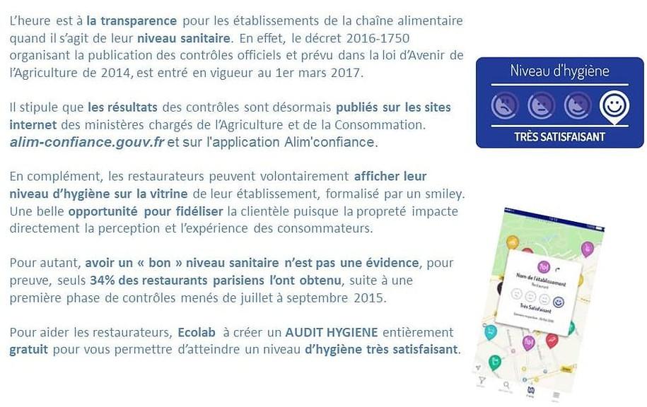 Transparence Ecolab