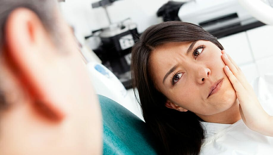 emergency dentist - emergency dental services - root canal pain