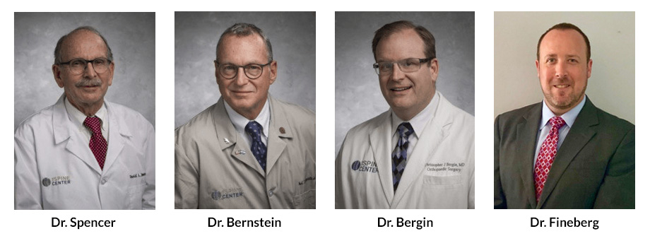 The Spine Center's orthopedic surgeons