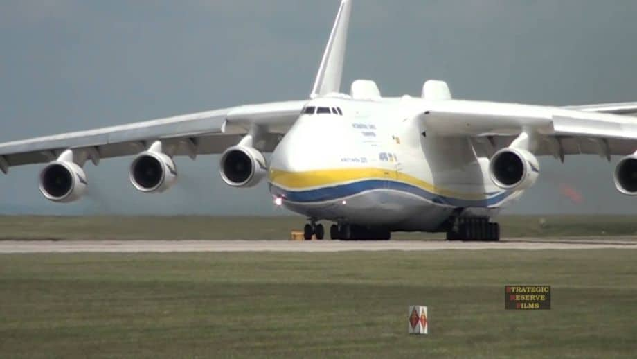Planta do Antonov AN-225 Mriya