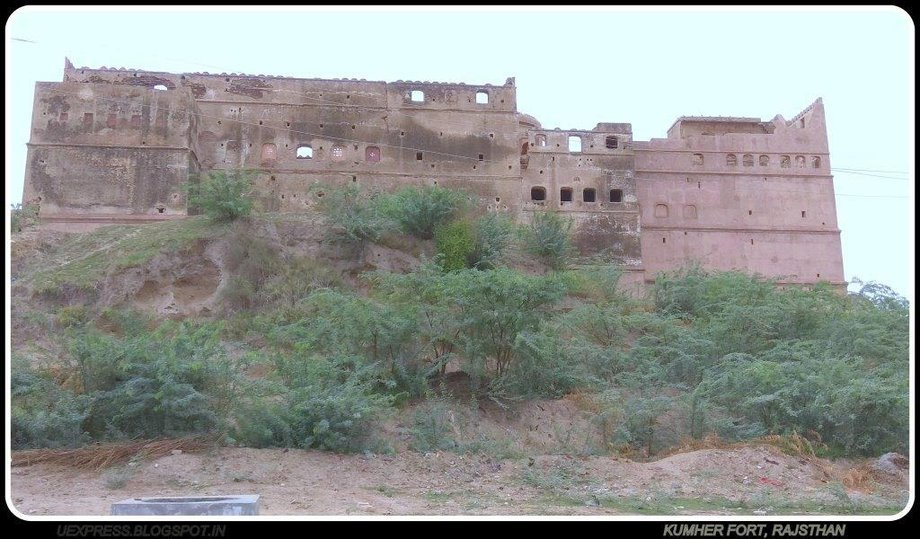 Fort at Kumher City in Bharatpur District, Rajasthan