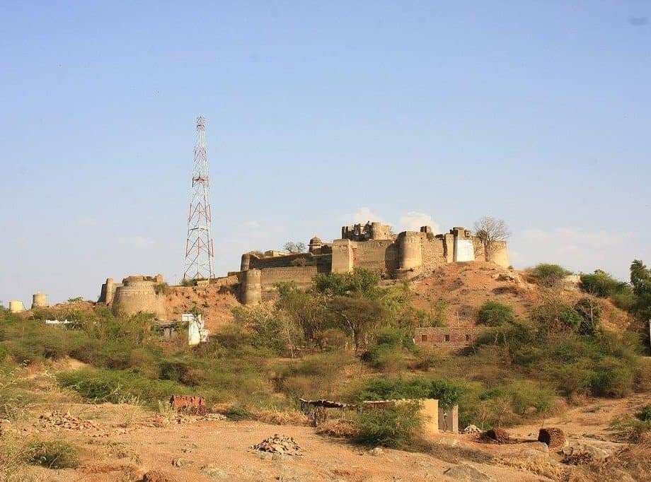 Amargarh Fort in Jahazpur city Bhilwara