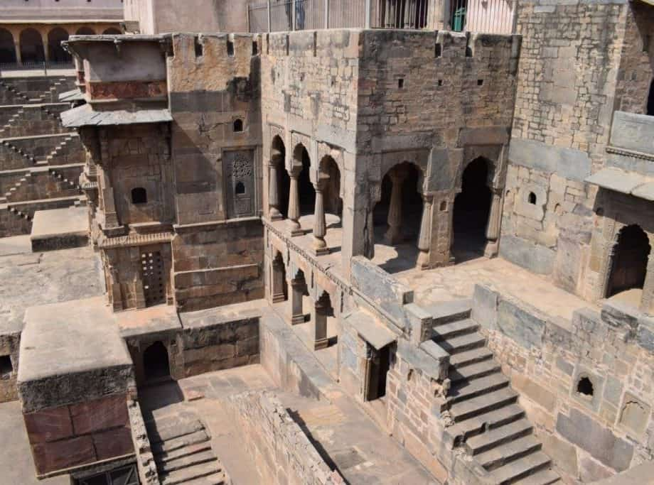 Abhaneri Historical Place of Bandikui City in Dausa District, Rajasthan