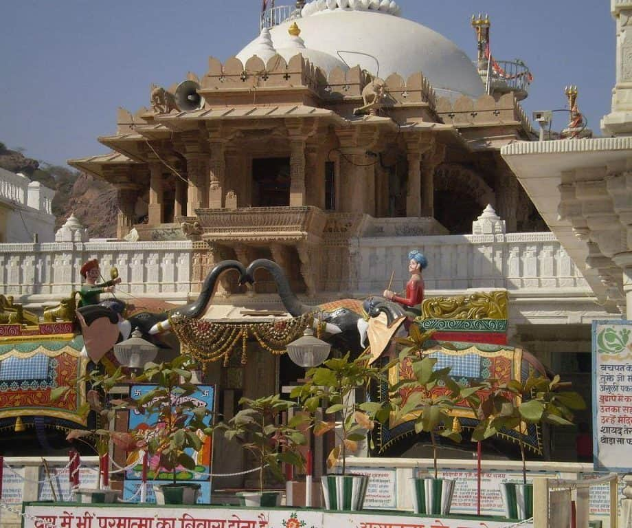 Nakoda Jain Temple in Barmer