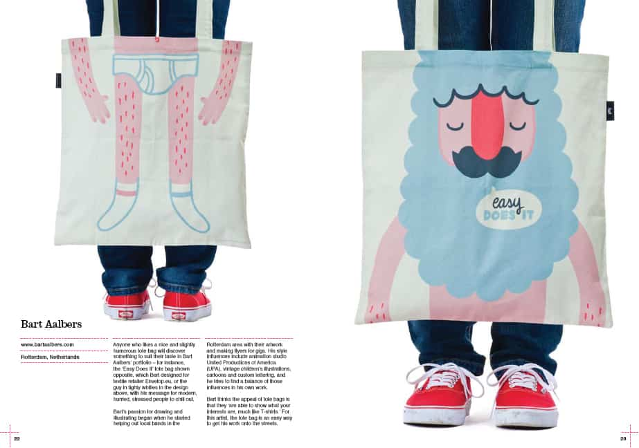 Tote Bag Book Bart Aalbers Underpant Beard