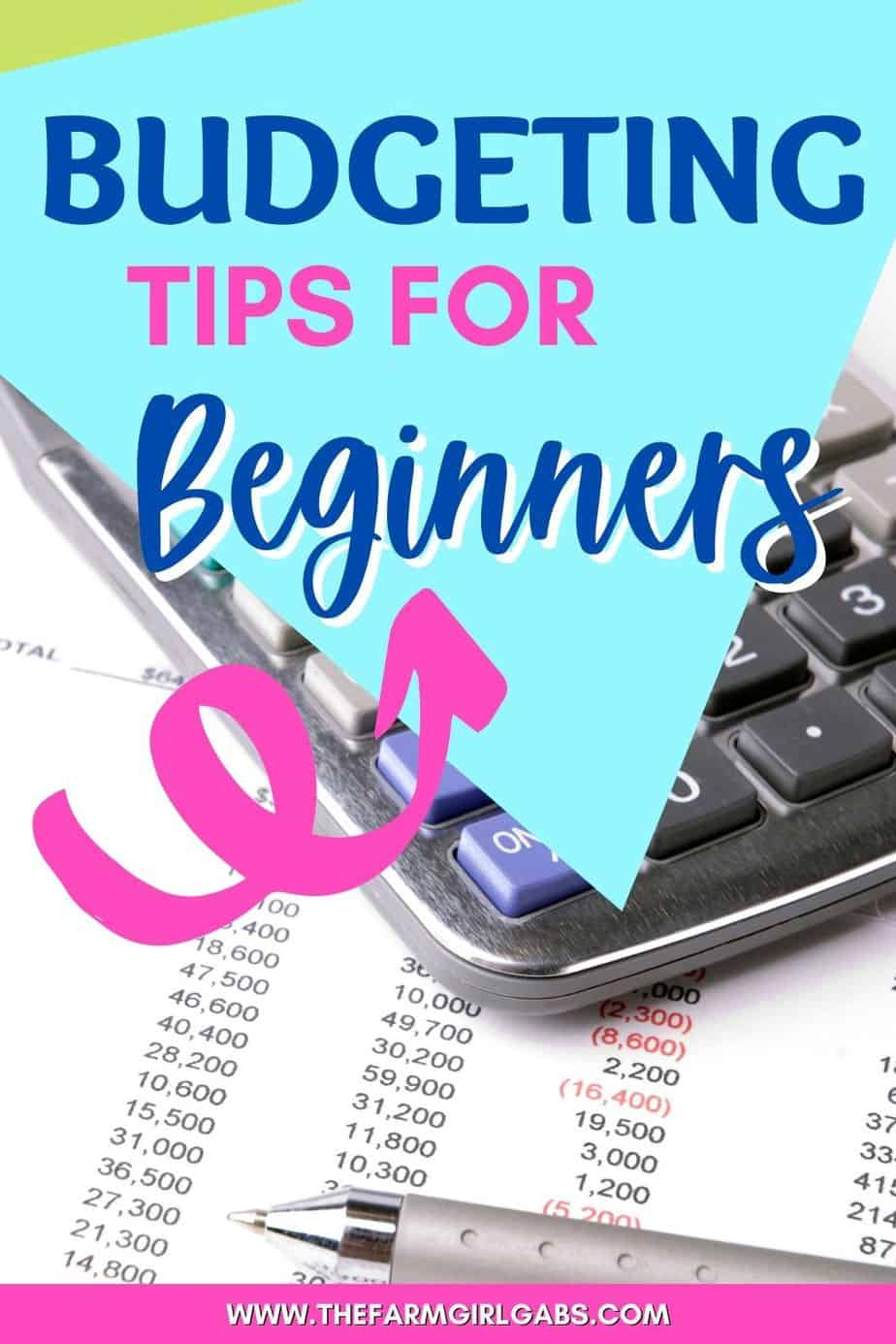 This is easy. You can do it. If you have never dealt with budgeting before, you have nothing to worry about. Even if you don't know a thing about budgeting or personal finance, this brief informative guide will help you through. Follow the simple beginner budgeting steps and you will be amazed at how much things will start to change for you. Follow these budget tips. Free printable budgeting worksheet.