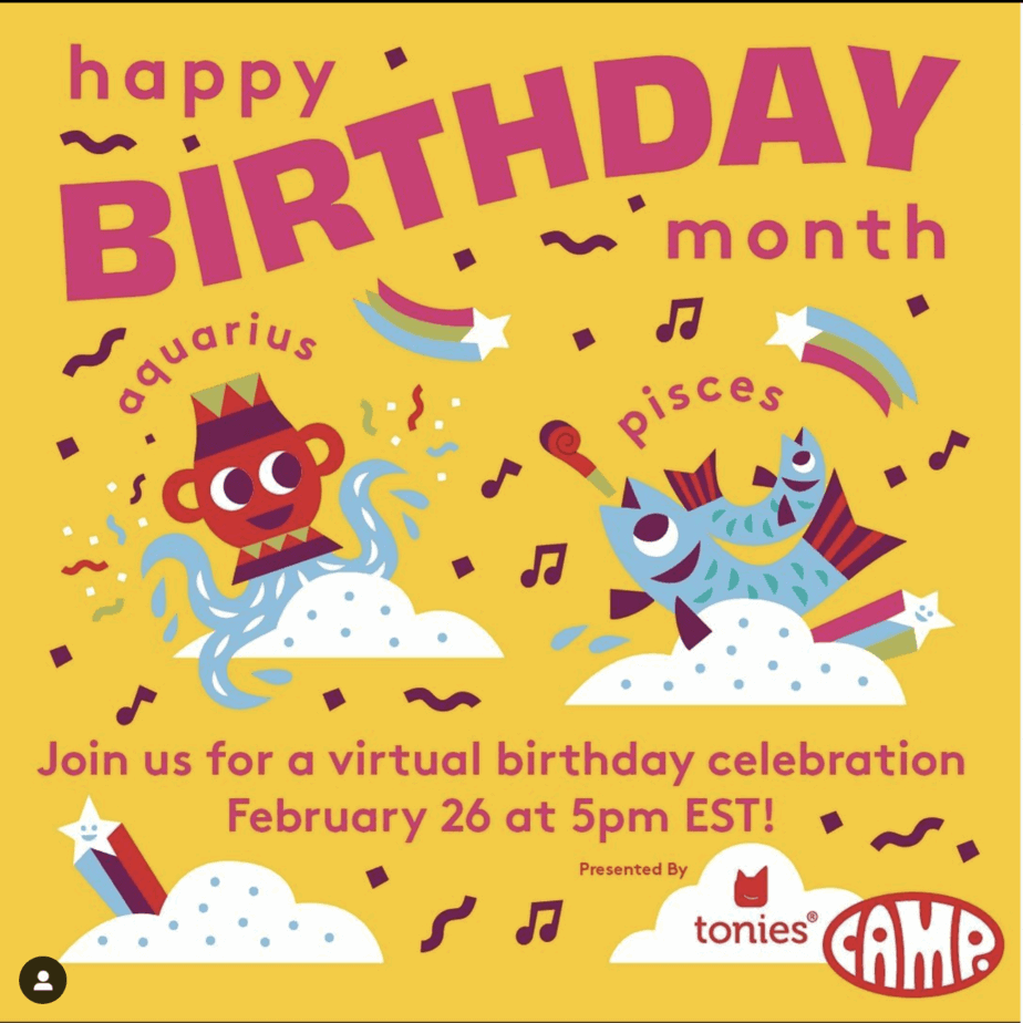 February Virtual Birthday Bash!
