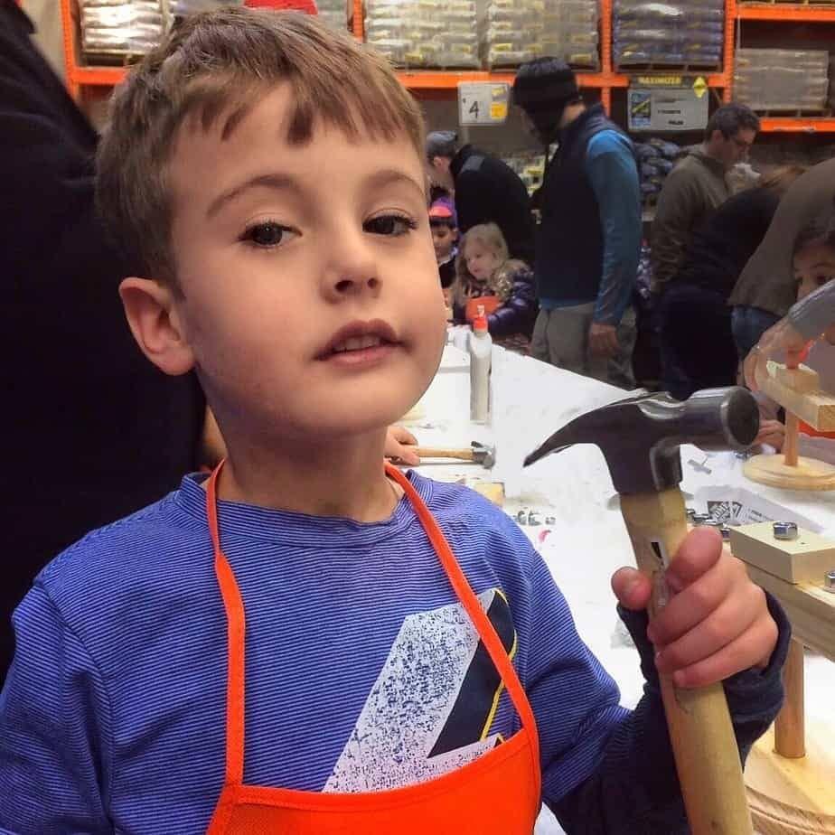 hoem depot kids workshop