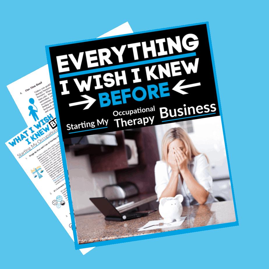Everything i wish i knew before starting an OT business - OTpreneur thumbnail