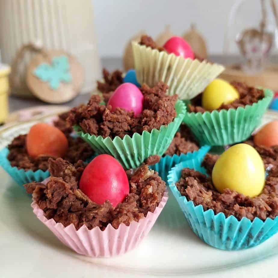 Mini Chocolate Easter Nests