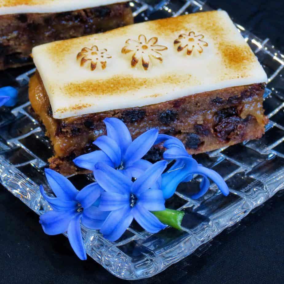 Gluten Free Easter Simnel Slices Recipe