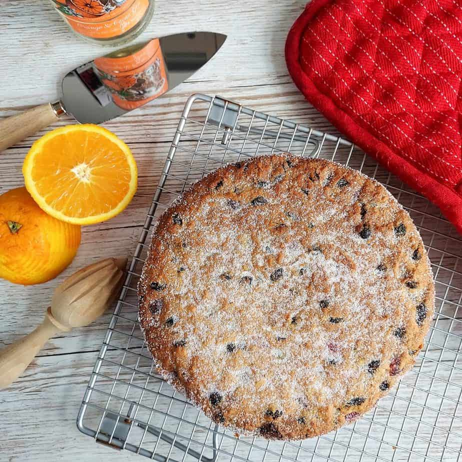 Orange and coconut cake for the  Perfect Spring Desserts round up