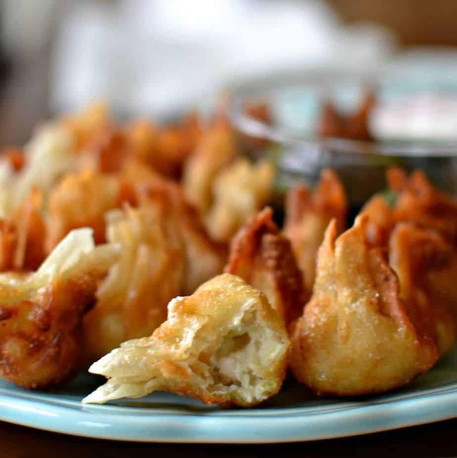 Fried Wonton Cream Cheese