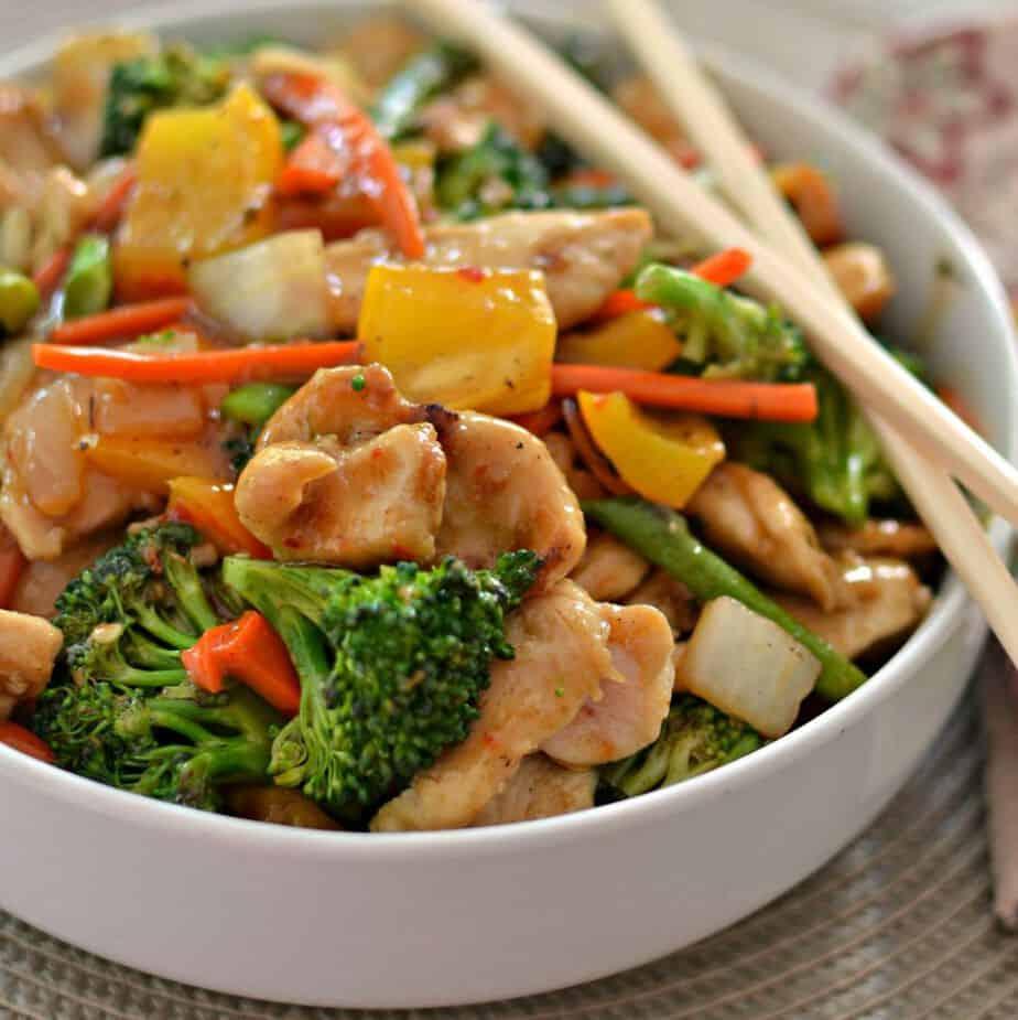Chicken Stir Fry Recipe