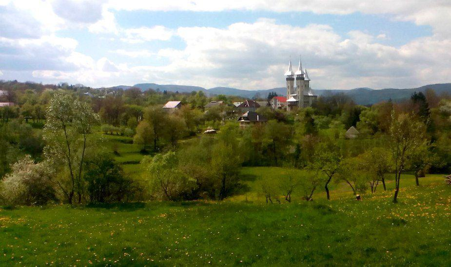Breb Maramures Romania in April