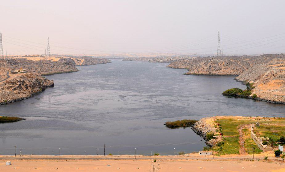 High Aswan Dam Egypt