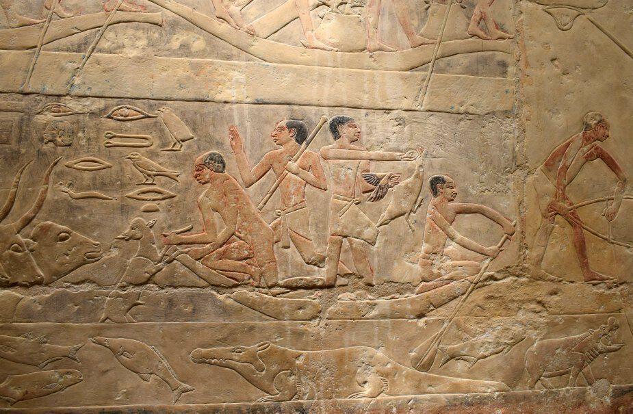 Egyptian heiroglyphics Djoser