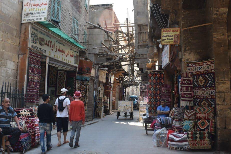 The Old Bazaar in Cairo