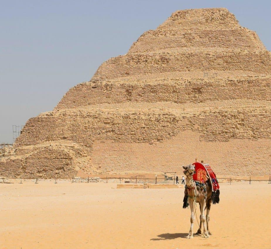 The Saqqara Step Pyramid