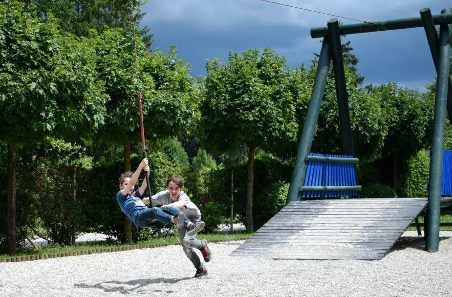 Slovenia Ljubianja playground