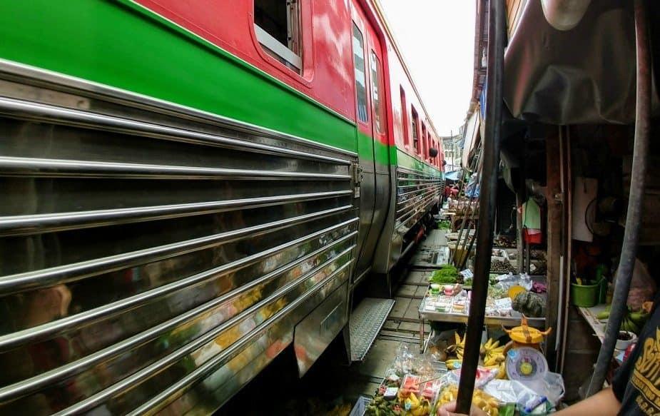 Maeklong Railway Market Guided Tour