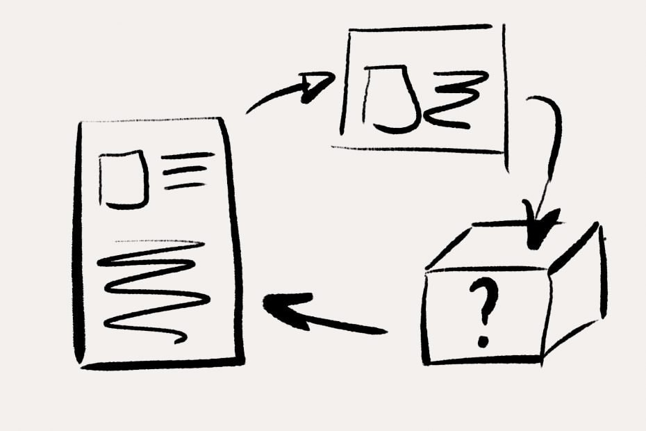 Simplifying process by removing bureaucracy