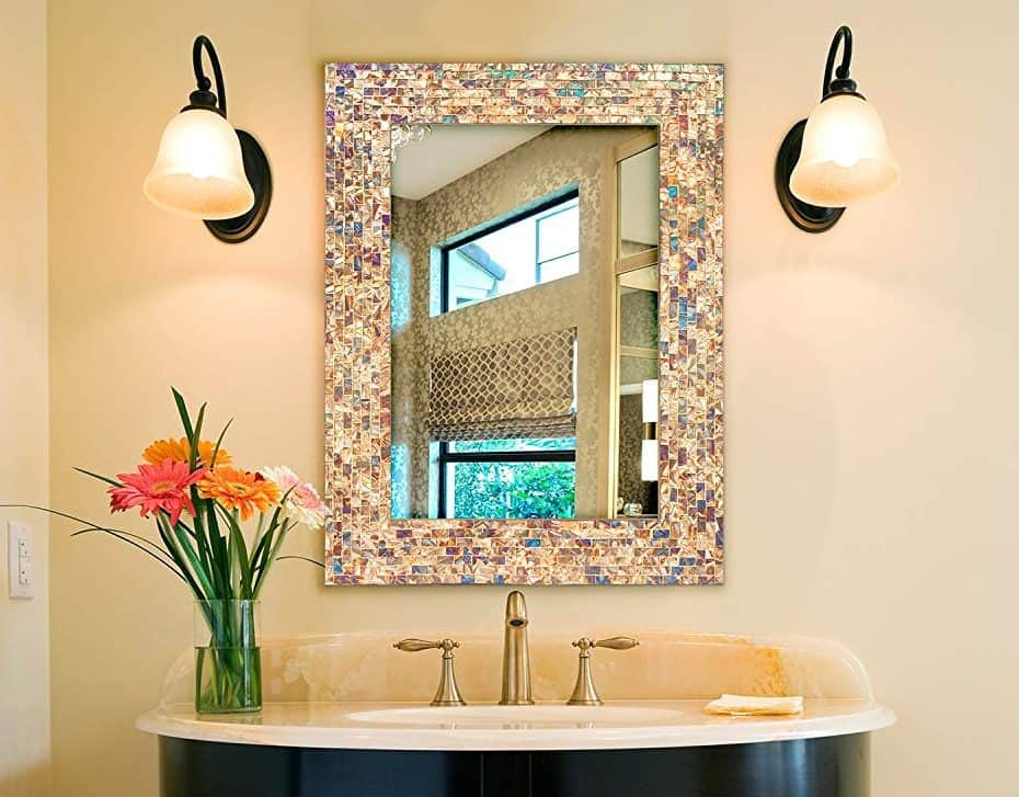 Top Mosaic bathroom mirrors