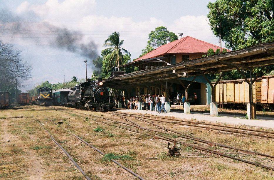 Estación de Ferrocarril de Zacapa