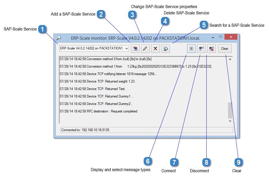 ERP-Scale Monitor