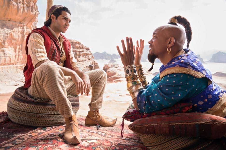 Will The New Aladdin Movie Take Us On A Magic Carpet Ride? Judging by the trailer, I think so! Aladdin Live Action movie flies into theaters on May 24th. #Aladdin