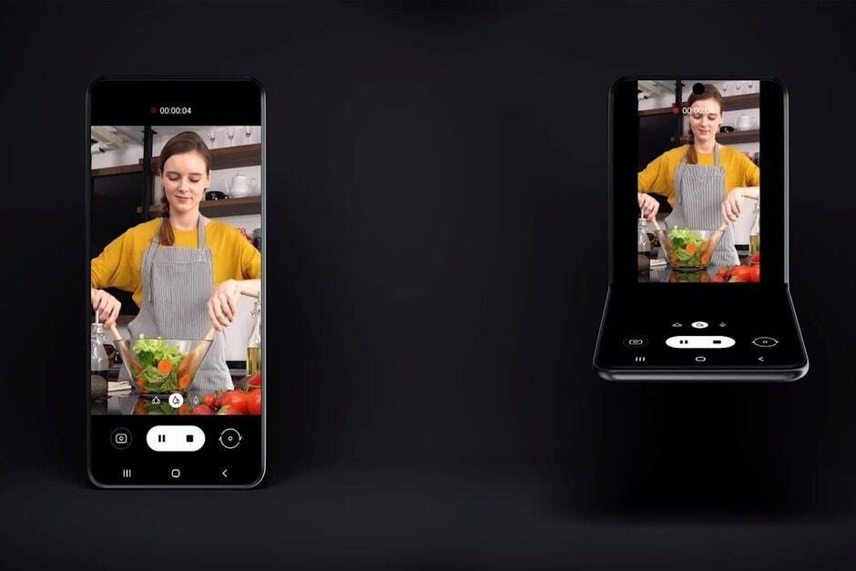 novo dobrável da Samsung